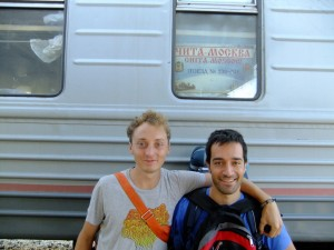 Arrivo a Irkutsk